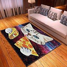 DRSTGYH Modern Rug Carpet Shaggy Area Rugs Starry