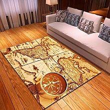 DRSTGYH Modern Rug Carpet Shaggy Area Rugs Vintage