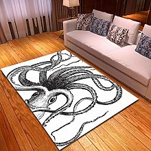 DRSTGYH Modern Rug Carpet Shaggy Area Rugs White