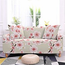 DRTWE Stretch Sofa Cover,Floral Printed Couch