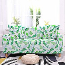 DRTWE Stretch Sofa Cover,Plant Printed Couch