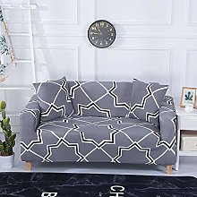DRTWE Stretch Sofa Cover,Printed Couch Cover