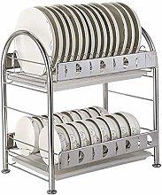 Dryer, 2-Layer Stainless Steel Kitchen Utensil