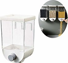 DSDD Food Dispenser Container Wall Mount Cereal