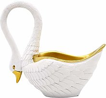DSDD Nordic Light Painted Gold White Swan Home TV