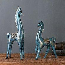 DSDD Nordic Modern Minimalist Horse Decoration