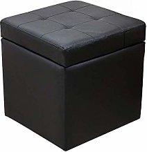 DSDD Sofa Stool Low Stool Leather Stool Storage