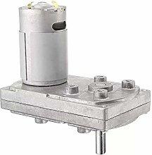 DSENIW QIDOFAN Motor DC 12V 6000RPM Gear Motor
