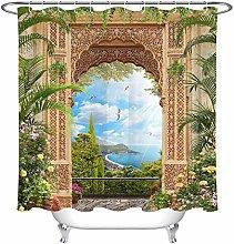 dsgrdhrty European arches'coastline Bathroom