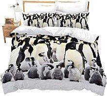 dsgsd bedding set duvet cover set Glacier animal
