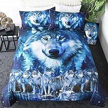 dsgsd duvet cover bedding set Winter nature