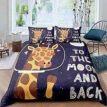 dsgsd Duvet Cover Set 3 Pieces animal giraffe 260