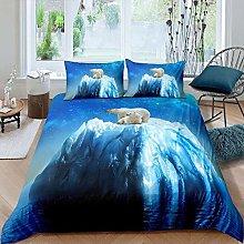 dsgsd king duvet cover Blue starry sky stone