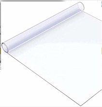 DSJMUY PVC Chair Mat,Transparent Tablecloth Clear