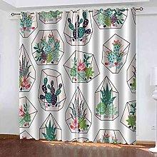 DSVNNZ Blackout Curtains for Kids Bedroom 3D