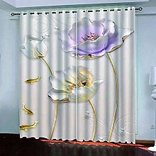 DSVNNZ Blackout Curtains for Living Room with