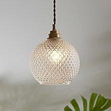 DSYADT Cracked Glass Pendant Light Fitting -
