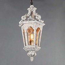DSYADT Pendant Light 1 Bulb Vintage Natural Boho
