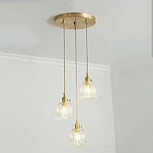 DSYADT Vintage Industrial Pendant Lights 3 Lights