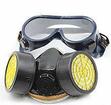 Dual Cartridge Anti-Dust Mask Chemical Safety