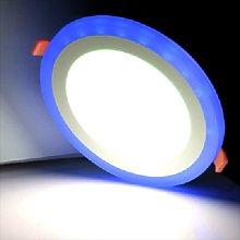 Dual Colour Round 1.5cm LED Slim Profile Recessed