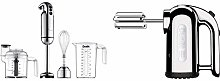Dualit 88910 700 Watt Hand Blender, Polished &