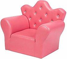 Duanguoyan Girls Princess Sofa PVC Leather Sofas