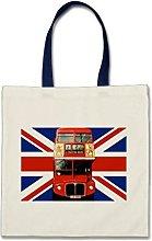 DUANLEYI Souvenir Tote Bag from London England