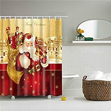 duanyunmei 180 * 180cm Waterproof Shower Curtain