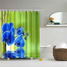 duanyunmei Flowers Poster Shower Curtains Bathroom