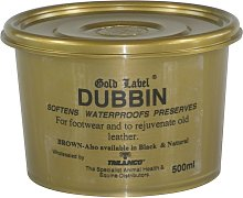 Dubbin Brown (500g) (May Vary) - Gold Label
