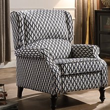 Dubreuil Manual Recliner ClassicLiving Upholstery