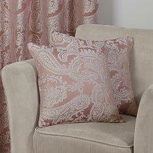 Duchess Cushion Cover Blush 17x17' Bed Sofa