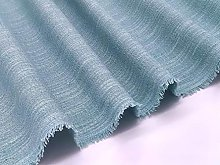 Duck Egg Soft Textured Chenille Upholstery Fabric