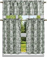 Duck River Textile Floral Kitchen Curtain & Tier