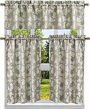 Duck River Textile Floral Kitchen Curtain & Tier