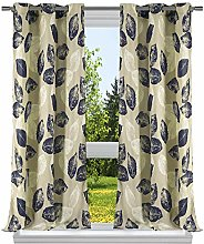 Duck River Textile Floral Window Curtain Set,