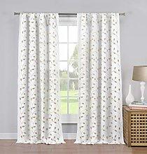 Duck River Textile Kitchen Valance, Linen, 54x18