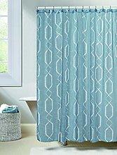 Duck River Textile shower curtain, Blue, 70x72