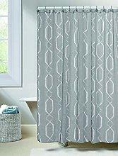 Duck River Textile shower curtain, Gray, 70x72