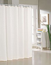 Duck River Textile shower curtain, White, 70x72