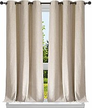 Duck River Textile Solid Window Curtain Set,