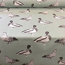 "Ducks Egg Shell Cotton140cm/54"" Curtain Fabric"