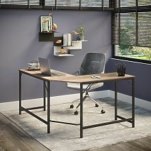 Dudley Large Corner Home Office Desk   Computer