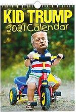 DUDUDU Wall Calendar 2021 Trump Funny Calendar,