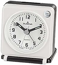 Dugena Alarm Clock, Plastic, Black, 70 x 60 x 33 mm