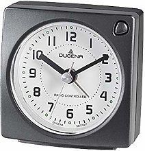 Dugena Alarm Clock, Plastic, Black, 73 x 75 x 40 mm