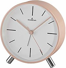Dugena Alarm Clock Plastic, Rose, 110 x 50 mm