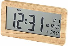 Dugena Alarm Clock, Wood, Light Brown, 148 x 78 x