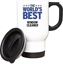 Duke Gifts BLUE Worlds Best Window Cleaner White